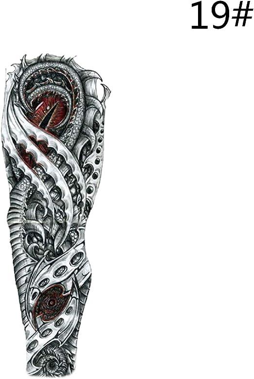 WINTER DONG Temporales de tatuajes para mujeres, hombres, tatuajes ...
