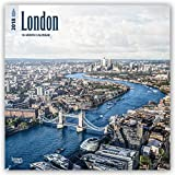 London 2018 12 x 12 Inch Monthly Square Wall Calendar, UK United Kingdom City (Multilingual Edition)