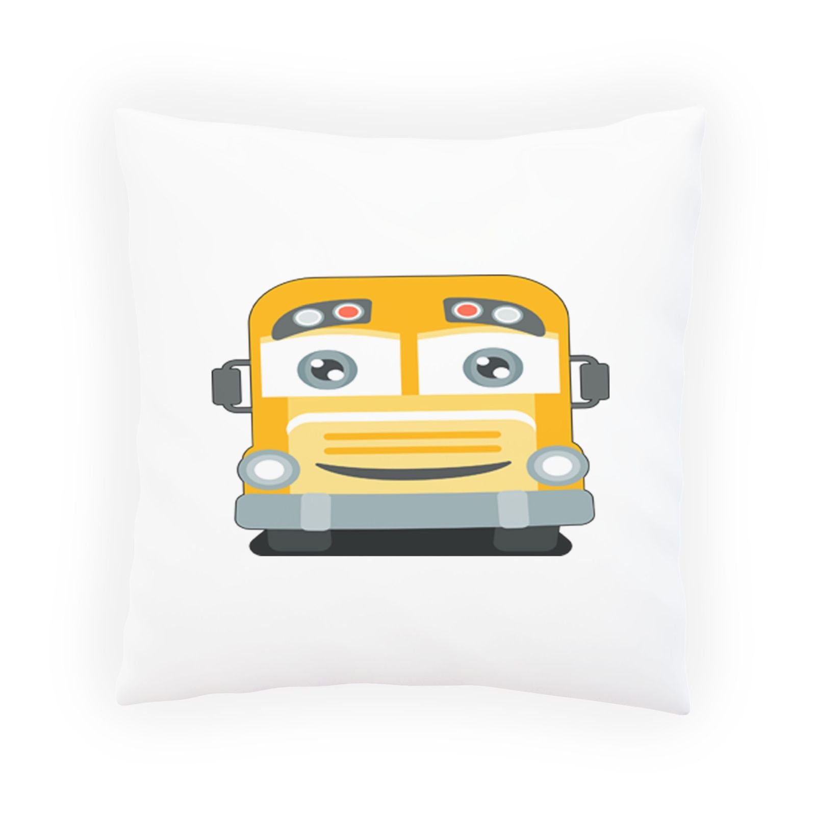 School Bus Driver Decorative Pillow , Cushion cover with Insert or Without p653p