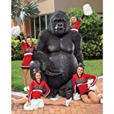 Design Toscano Giant Male Silverback Gorilla Statue, Multicolored