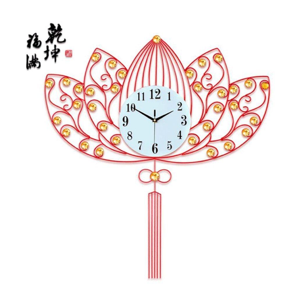 GAOLILI 現代クリエイティブ時計リビングルームファッションパーソナライズされた無声クォーツ時計 ( 色 : A , サイズ さいず : 63*71cm ) B07C3SGTFQ 63*71cm|A A 63*71cm