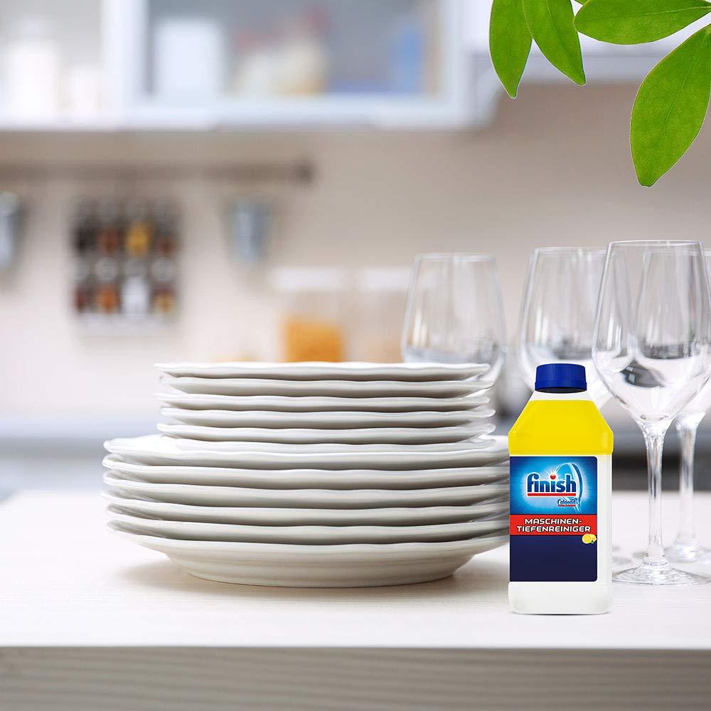 Finish Calgonit - Limpiador de lavavajillas, 6 unidades de 250 ml ...