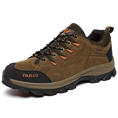 Unisex couple Men's Women's Sports Outdoor Leather fleece lined shoe Hiking Boot Backpacking Shoe