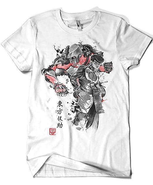 Camisetas La Colmena 3439-Camiseta Premium, Jojos Bizarre Adventure - ZA Warudo Sumie (Dr.Monekers)