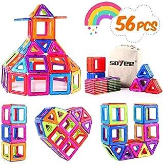 24 Pcs Magnetic Building Blocks Set Colorful Zooawa ...