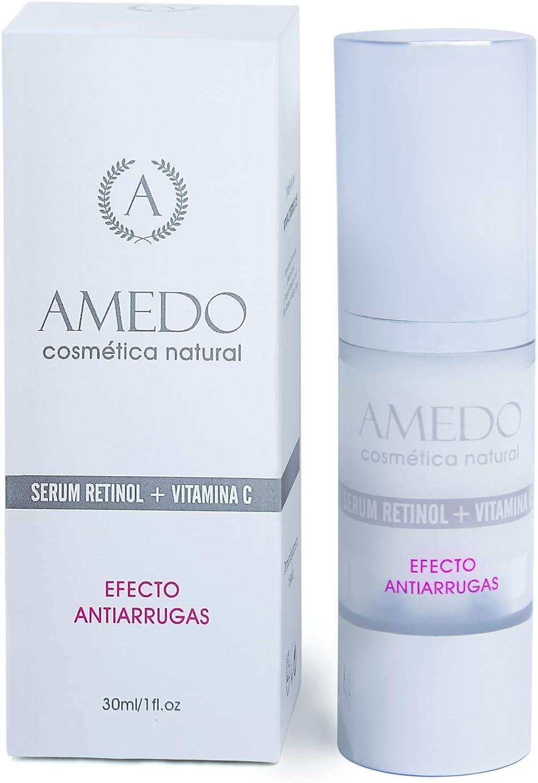 ALTAMENTE EFECTIVO - SERUM RETINOL + VITAMINA C + VITAMINAS EYF - Serum antiedad, hidratante, diseñado para disminuir las arrugas y aumentar la ...