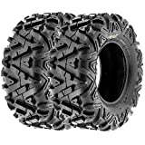 Sun.F A033 ATV UTV Tires Set of 2 ,6 Ply (25x11-12)