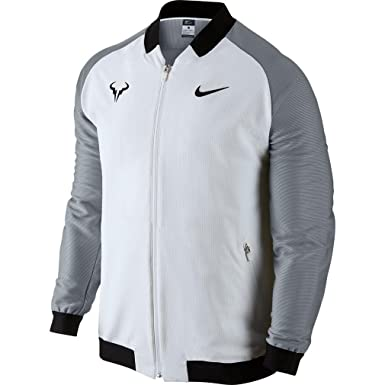 Nike Men's Rafael Whitestealth Court Nadal medium Tennis Jacket FqFUSwn1C