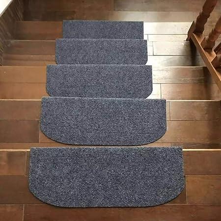 Antideslizante Almohadillas De Escalera 15 Piezas, Color Sólido Alfombras para Escaleras Interior Escalera Runner para Proteger A Los Niños, Ancianos, Perros-Gris 75x24cm(30x9inch): Amazon.es: Hogar