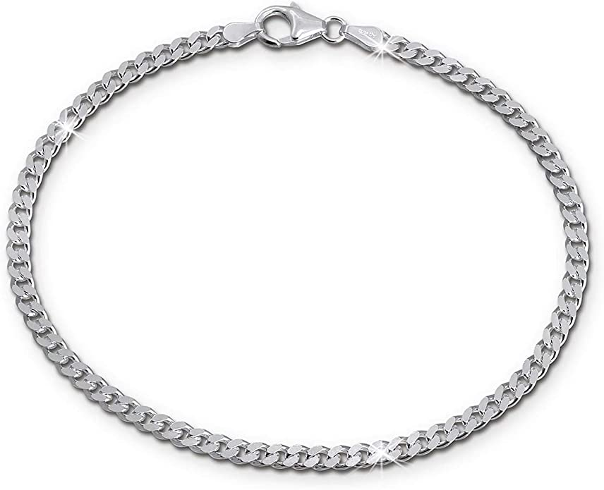 Señora pulsera caballero tanques cadena 21cm plata joyas sda2281j de silberdream
