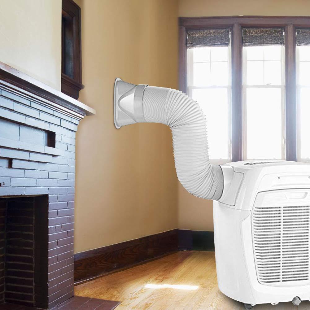 ideal f/ür tragbare Klimaanlagen WE-WIN Klimaanlage Schlauch 6 Zoll 2//3 Meter tragbare Auspuff Entl/üftung mit 5,9 Durchmesser L/änge bis zu 78//118