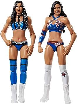 WWE - Pack 2 figuras de acción luchadores Kay vs Royce con ...