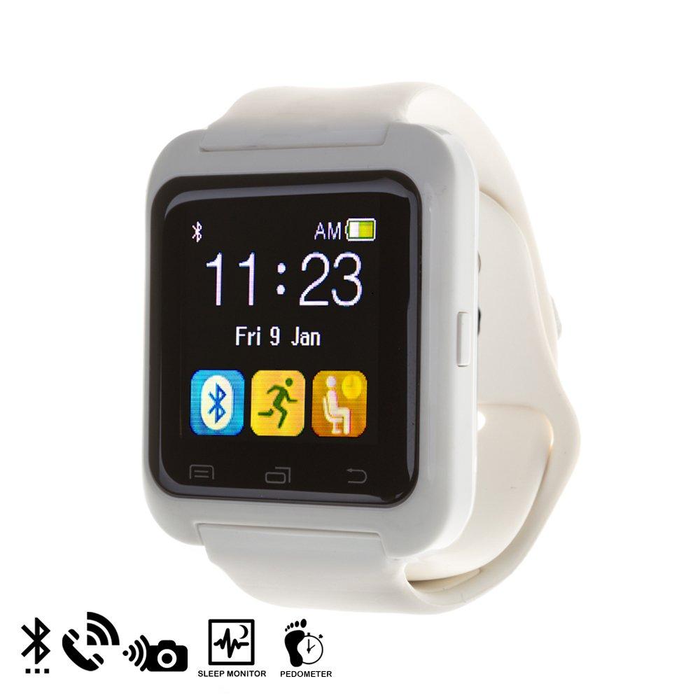 DAM - U80 Bluetooth Watch White: Amazon.es: Electrónica