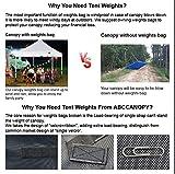 ABCCANOPY Industrial Grade Weights Bag Leg