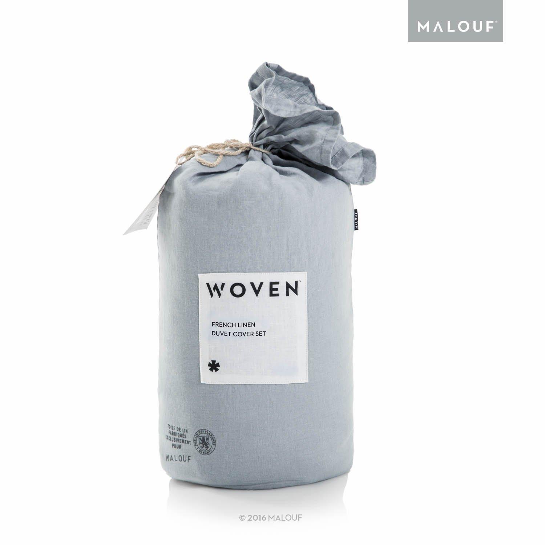 Amazon Com Woven Vintage Wash French Linen Duvet Set 100 Pure