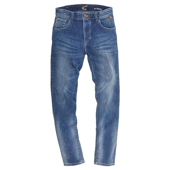 Camel Active Herren Jeans 5 Pocket Woodstock Stone Washed