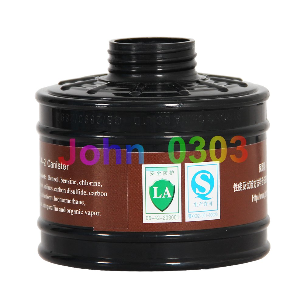 Carbon Filter Canister For Air Fed Gas Air Mask