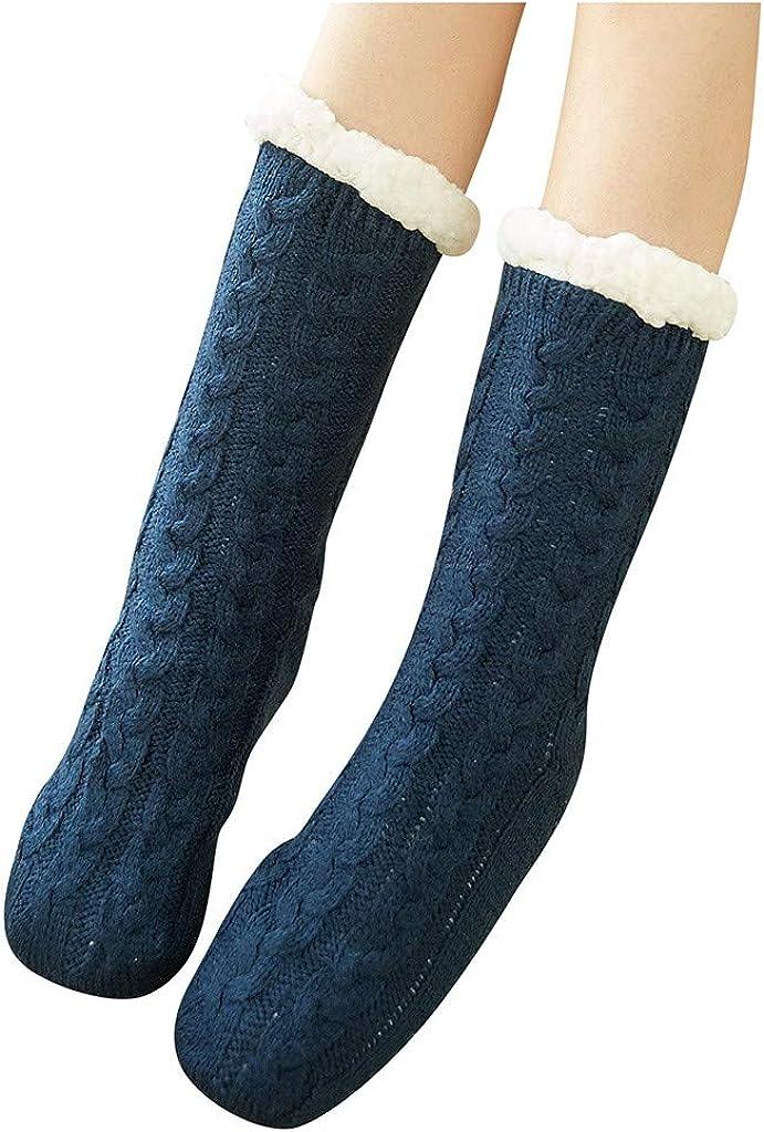 Socks Womens Winter Soft Warm Thick Casual Crew Socks Comfort Christmas Socks