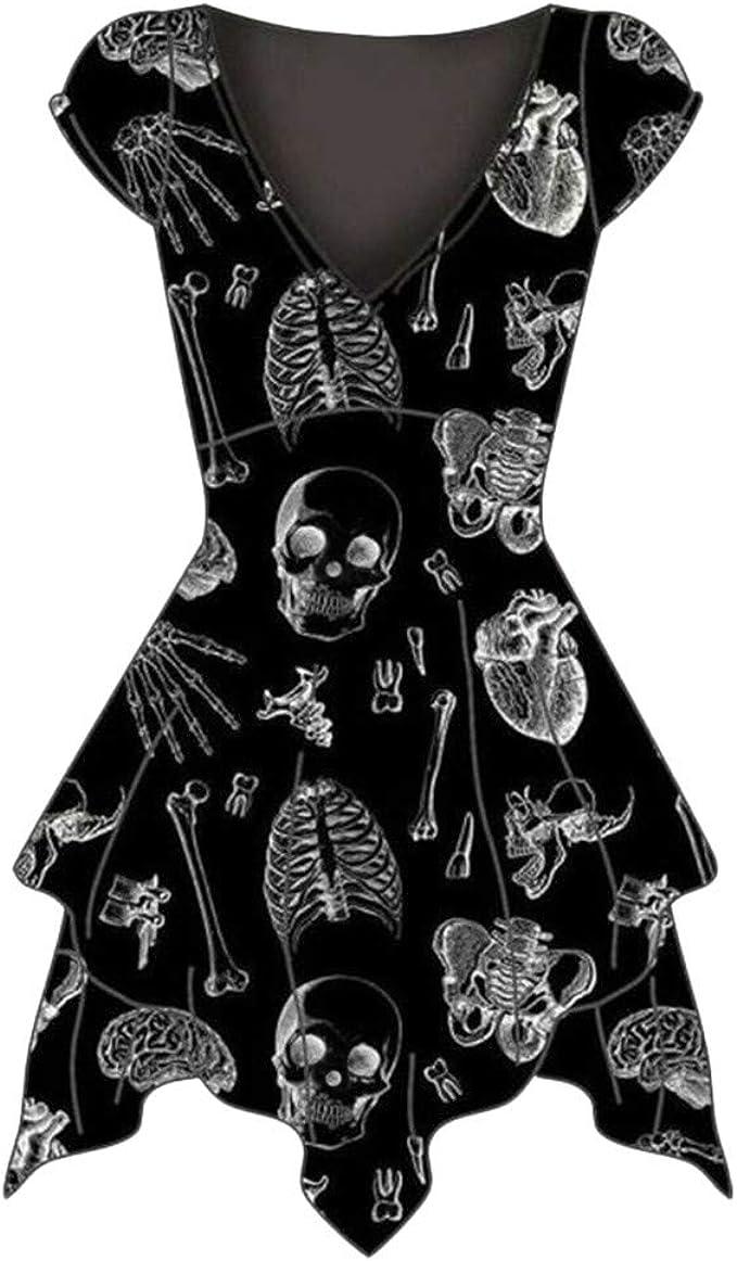Acheter robe tete de mort online 15