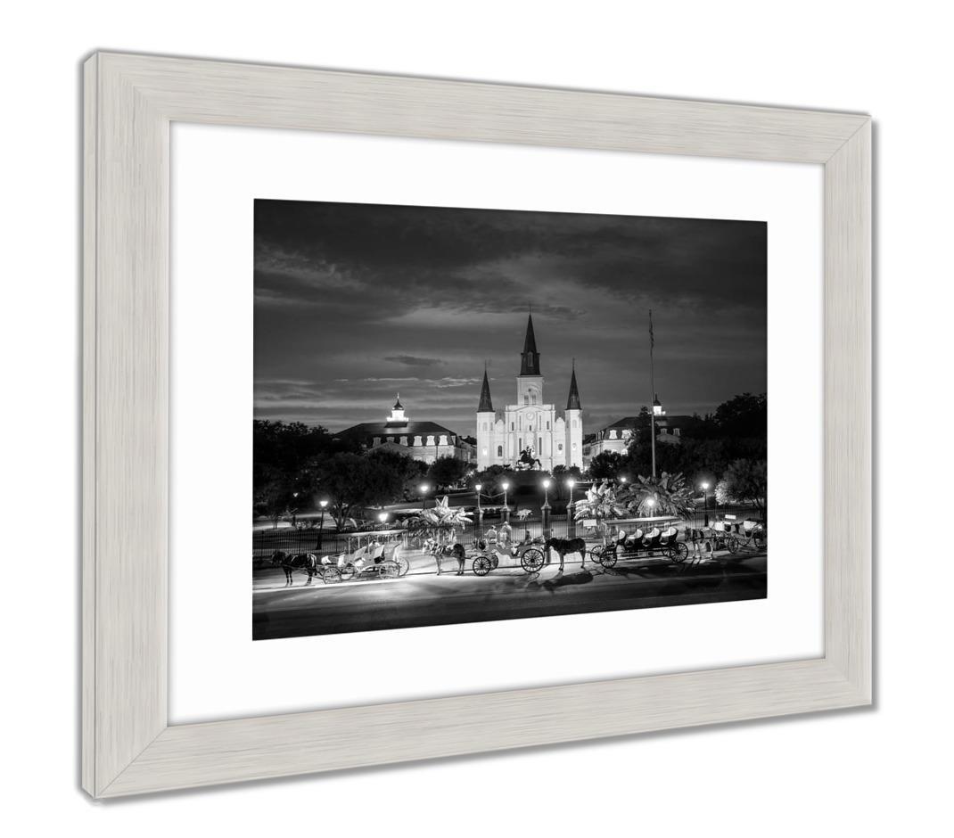 Ashleyフレームプリント、Saint Louis大聖堂とジャクソンSquare in New Orleans Louisia 34