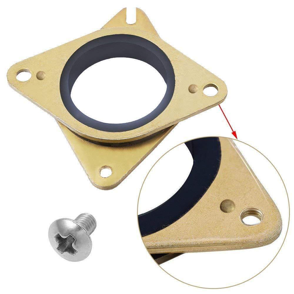 NEMA 17 Stepper acero y caucho amortiguadores de vibración con ...