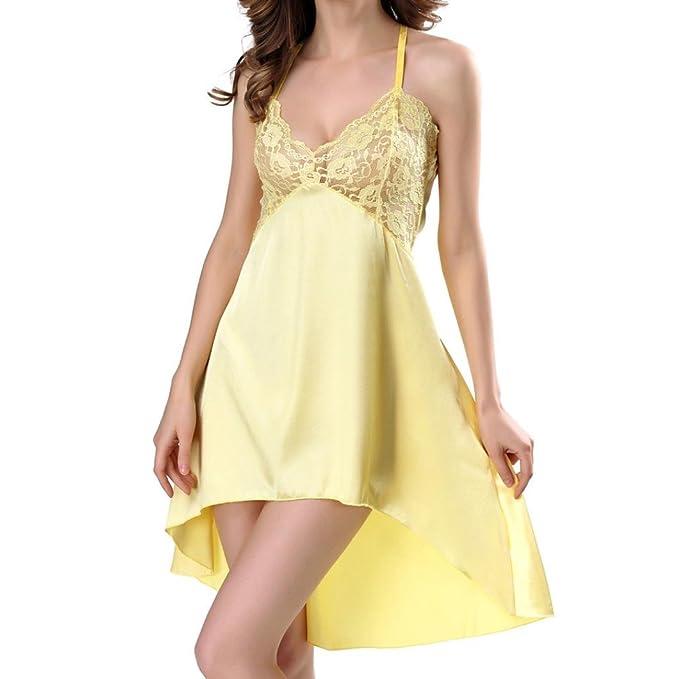 Lenceria mujer, Morwind lenceria encaje vestido halter picardias tallas grandes mujer bodysuit backless ropa interior mujer muy transparente pijama: ...