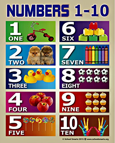 number chart for toddlers - 1