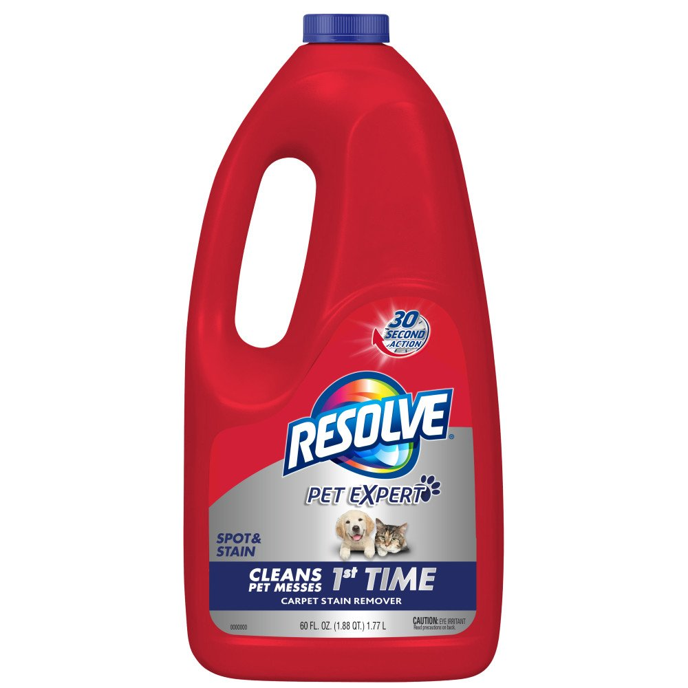 Resolve Pet Stain & Odor Carpet Cleaner Refill, 60 fl oz Bottle Reckitt Benckiser SYNCHKG097508