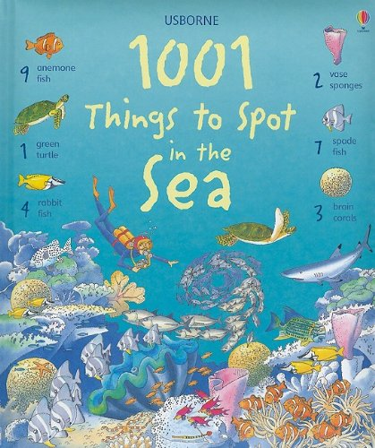 Animals Book Activity Sea (1001 Things to Spot in the Sea)