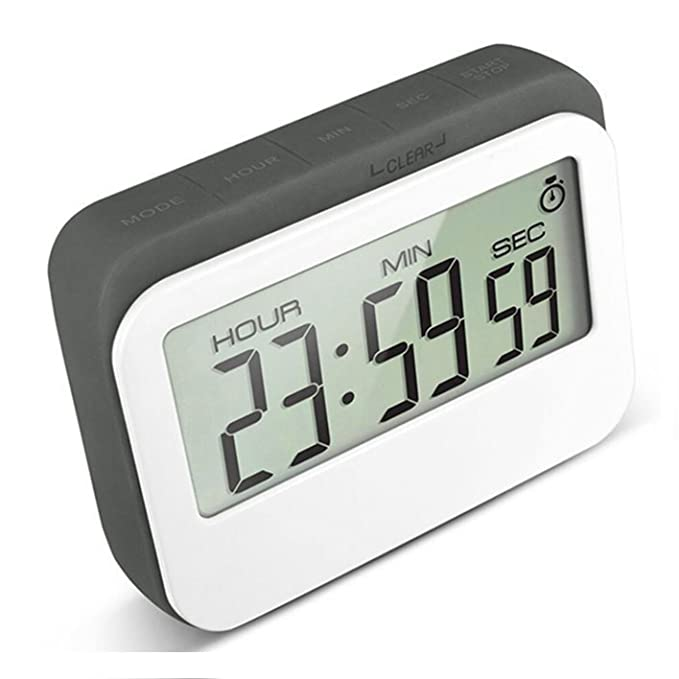 amazon com vpal digital kitchen timer 12 24 hours alarm clock rh amazon com