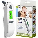 Term/ómetro digital para beb/é Velidy infrarrojos, para la frente y la oreja, para ni/ños y adultos