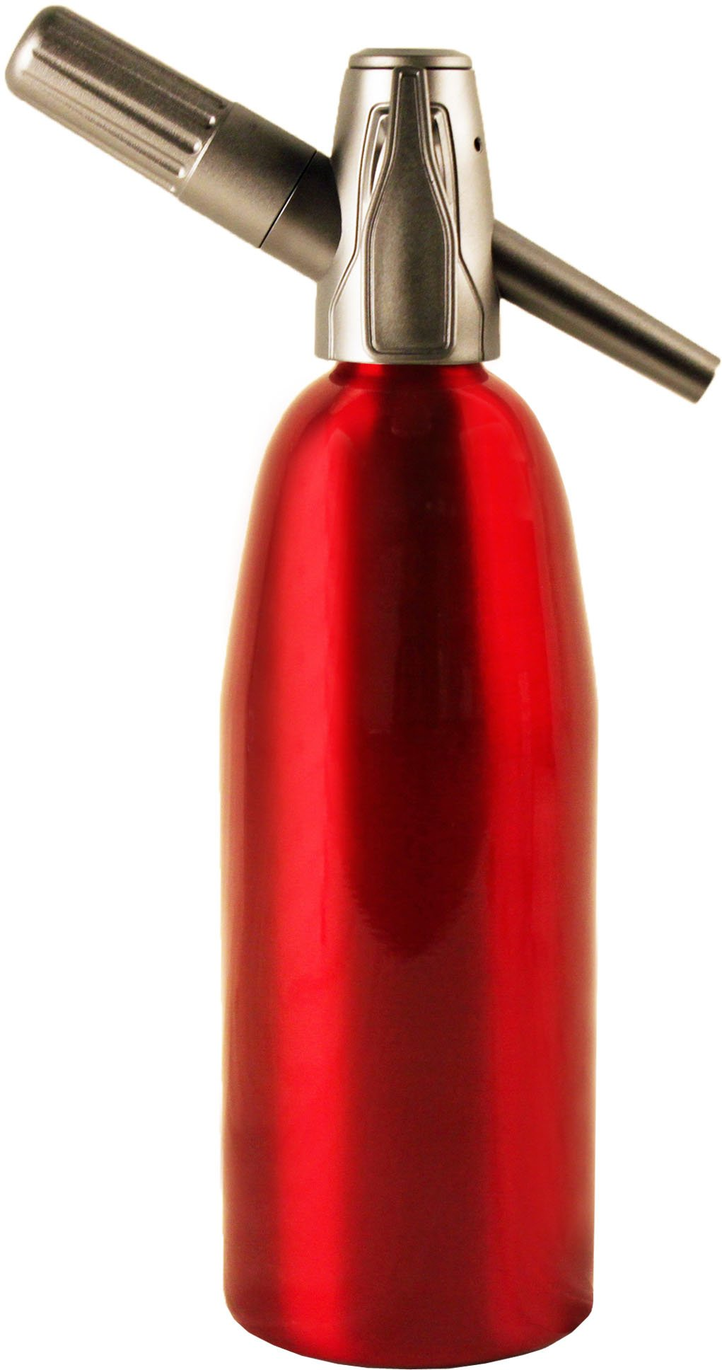 Sparkle Soda Siphon-Red by Creamright