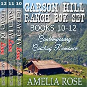 Carson Hill Ranch Box Set - Books 10-12 | Amelia Rose