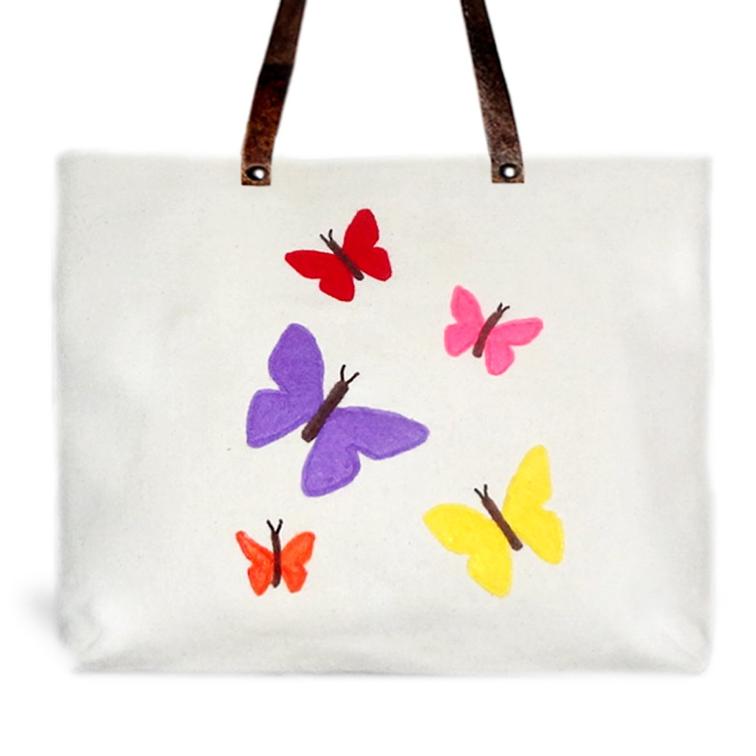Butterfly Rainbow Resort Tote