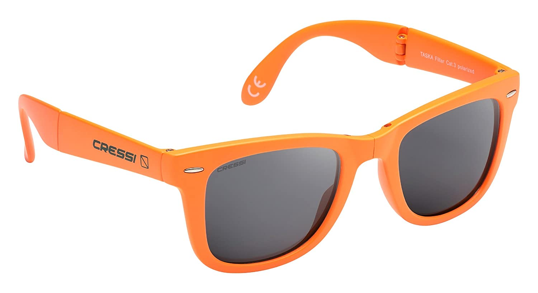 Cressi Taska Gafas de Sol, Unisex Adulto, Naranja/Gris ...