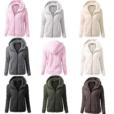 DICPOLIA Womens Plus Size Long Jackets Winter Coats Thicker Sweater Coat Overcoat Outwear (5XL,