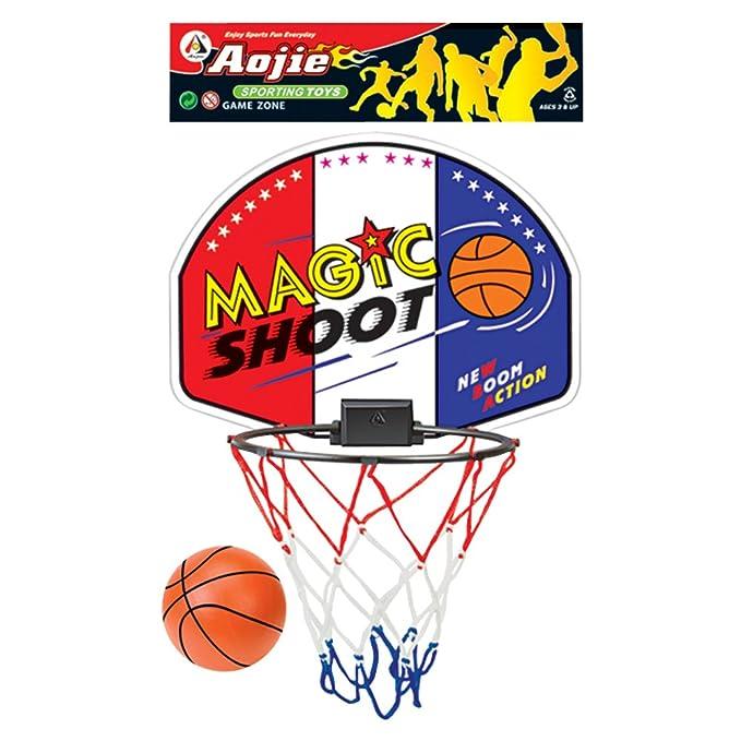 Gueydon Jouets - Set de canasta y pelota de baloncesto (801839 ...