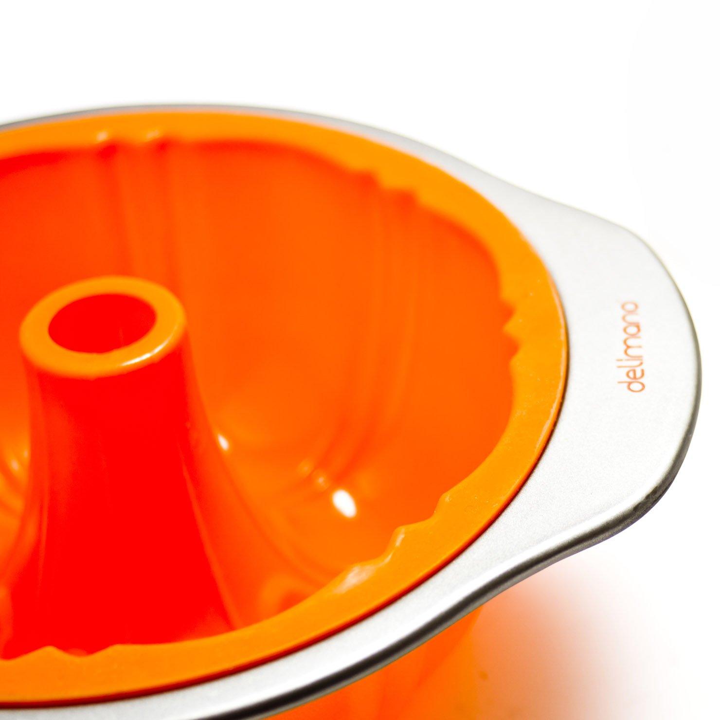 Delimano Fantasia silicona molde estriado Bunt Pan: Amazon.es: Hogar