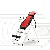 SportPlus Inversiebank, inklapbare zwaartekrachttrainer, met 6 inversiehoeken, strekbank ter ontlasting van de…