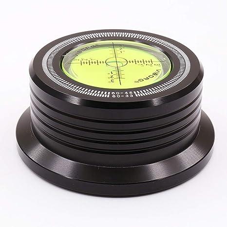 Viborg Black Hz G Record Weight Lp Disc Stabilizer Turntable Vinyl Clamp Hifi