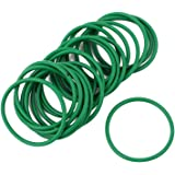 uxcell 20Pcs 25mm x 1.5mm Rubber Gasket O Ring Sealing Ring Heat Resistant Green