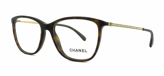 Amazon.com: Chanel och 3294b C714 (Tamaño de 54 dark havana ...