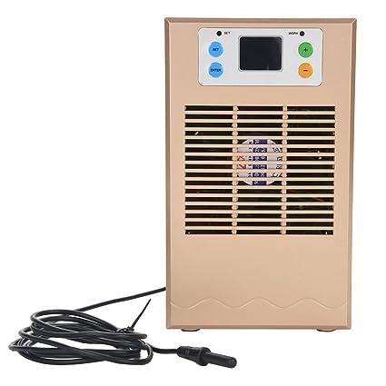 Jacksking Máquina de enfriamiento, Enfriador de Agua de Acuario 70W Enfriador de Tanque de Peces