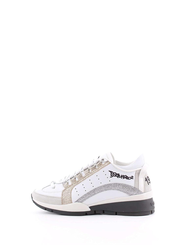 Zapatos de Mujer Zapatilla 551 Glitter Dsquared2 Otoño Invierno 2019 39 EU