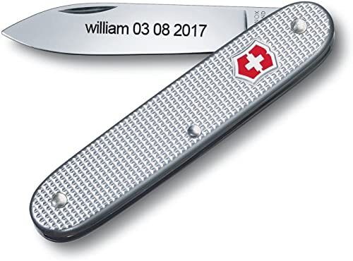 Bonkoo Personalized Swiss Army Knife Engraved – Victorinox Pioneer Alox 93 mm