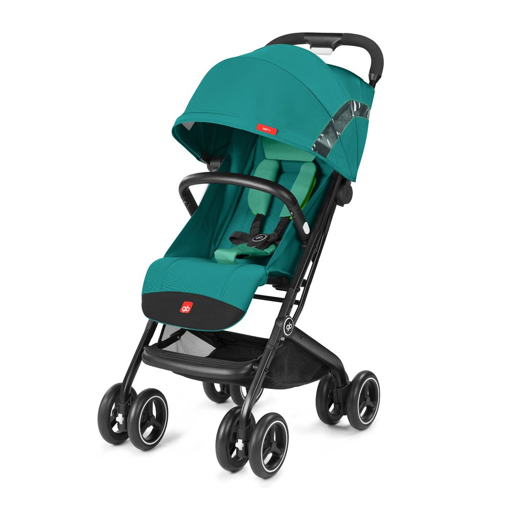 gb 2018 Buggy QBIT+ WITH Bumper Bar ''Laguna Blue'' - from birth up to 17 kg (approx. 4 years) - GoodBaby QBIT PLUS