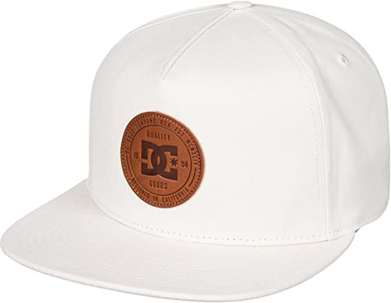 DC Shoes Proceeder Gorra, Hombre, Blanco (Antique White Solid ...