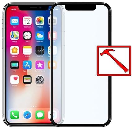 b55325d1f14 Slabo Lámina de Vidrio PREMIUM iPhone XS | iPhone X FULL COVER Lámina  protectora protector de
