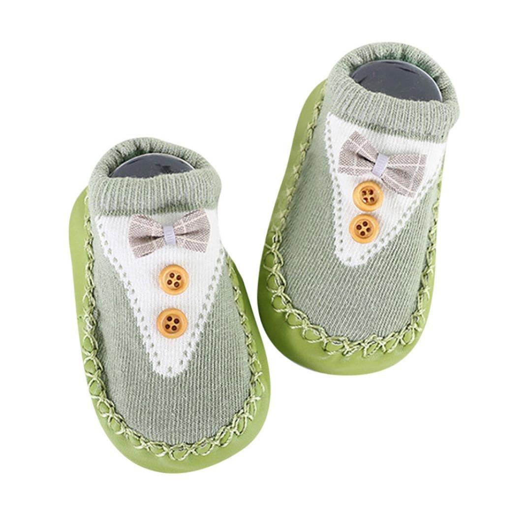 KEERADS Baby Socks Shoes, 1 Pair Toddler Anti-Slip Slipper Floor Socks Boots KD-1106