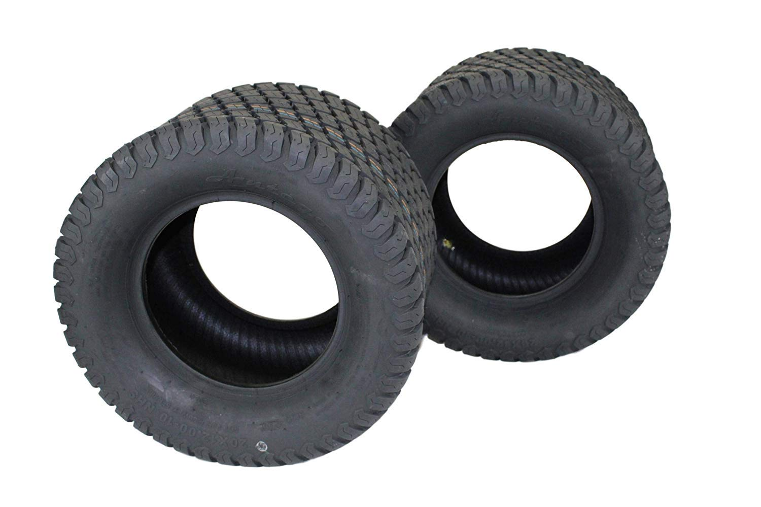 "(Set of 2) 20x12.00-10 ATW-003 Tires (Replacement tire for Hustler Raptor 54"", 60"" SD and SDX and Others) Lawn Mower/Zero Turn tire"